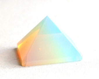 Opalite Crystal Pyramid Opalescent Stone