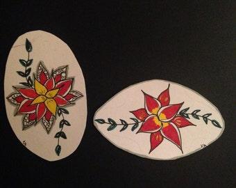 flower vines sticker
