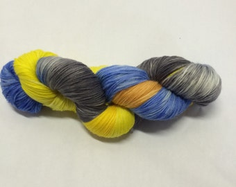 Hand Dyed Sock Yarn - Out of the Phog