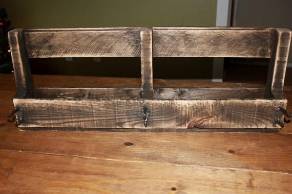Pallet Coat rack, Book shelf, Home Decor