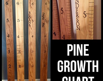 Select Premium Pine Growth Chart
