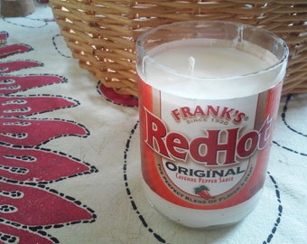 Frank's Red Hot Soy Wax Candle