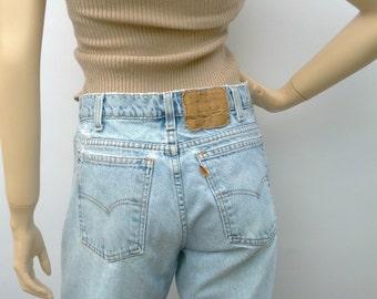 Levis Orange Tab Denim Jeans  vintage 80's Waist 30 in