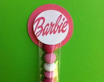 Barbie Inspired Party Favors