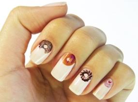 Donut Nail Sticker