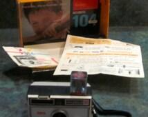Vintage 1950's Kodak Pony II Ra ngefinder Film Camera -=Display=- ...