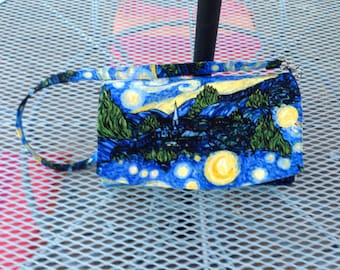 Starry Night Glenda Clutch Purse