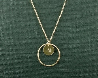 My Promise Ring Necklace - Promise Collection - Circle Necklace