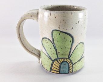 Playful Flower Mug