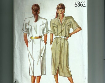 New Look Misses' Dress Pattern 6862