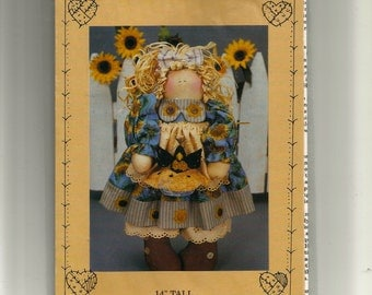 "Blackbird Surprise 14"" tall Doll Pattern"