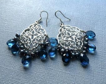 Mayura Chandelier Earrings