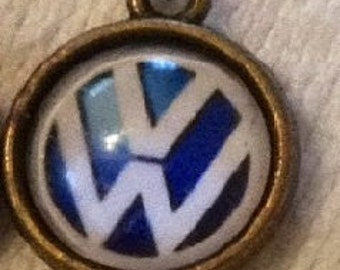 Small VW Charm with Matching Chain