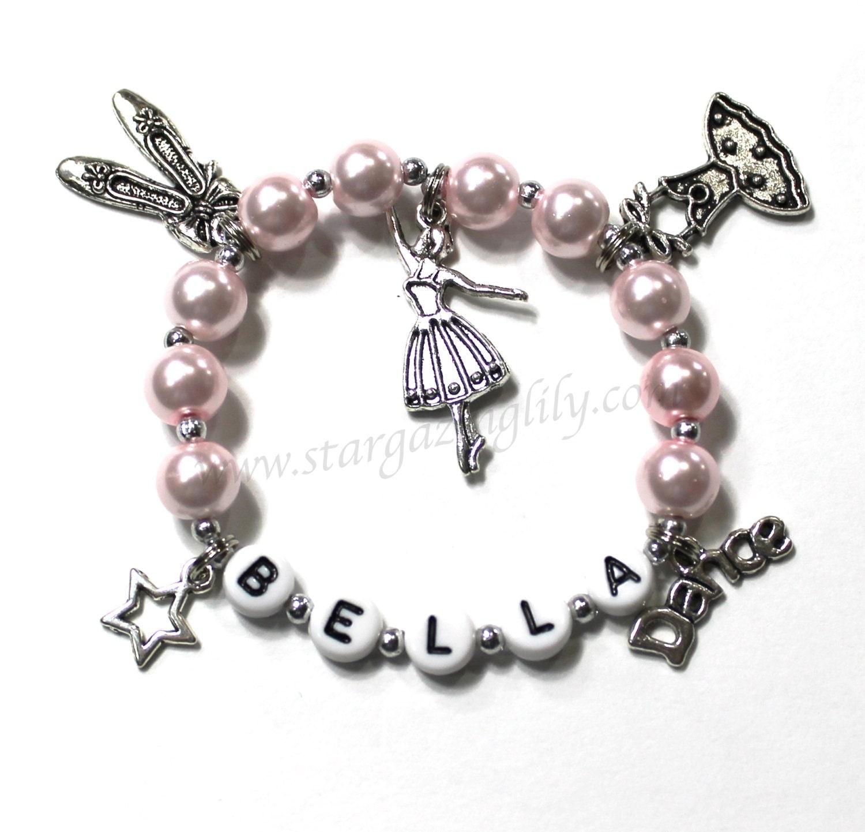 Ballet Charm Bracelet: Gift For A Dancer. Dance Themed Bracelet. Dance Charm
