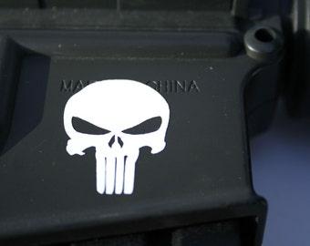 PUNISHER stickers 8pc set
