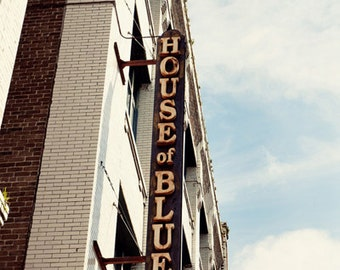 new orleans art sign photography french quarter architecture new orleans photography House of Blues