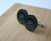 Bicycle Cuff Links in a Hurry