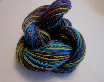 Suri Alpaca Lace Weight Handpainted Yarn (Glory) 100 yards 92 meters