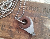 The Aviator- Mens Upcycled Hardware Ball Chain Necklace