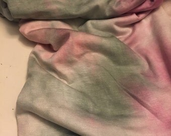 Stretch Jersey Knit  1 -1/4 Yard Tie Dye