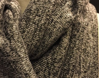 Speckled  Sweater Knit Fabric 2 Yards