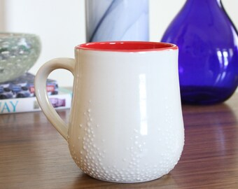 SALE Pebble Mug in Red - second