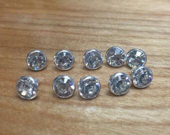 SS29 7mm Swarovski Crystal Elements crystal rivets 10/pk 53001