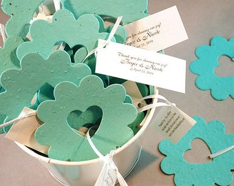 50 Piece Bucket of Love© Plantable Flower Seed Wedding Favors