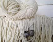 pure wool natural 20ply chunky yarn