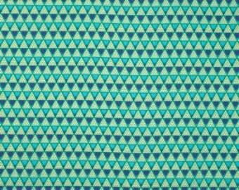 Anna Maria Horner Pretty Potent Family Unit aqua blue green Print cotton fabric by the yard