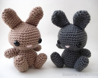 Cute Bunny - Amigurumi Bunny Rabbit Doll - Custom Color Options