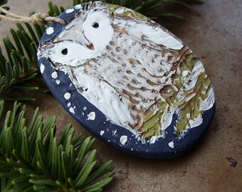 Midnight Owl Ornament