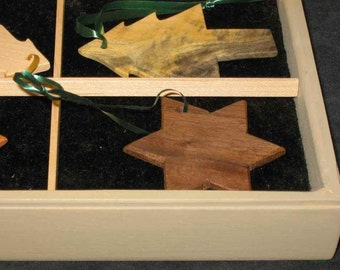 gift box of ornaments - ON SALE