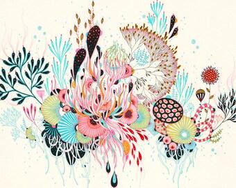 Giclee Fine Art Print - Maze