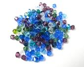 Cool mix of Swarovski Bicone Beads (50X) (S556)