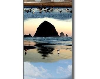 Cannon Beach Oregon Digital Painting