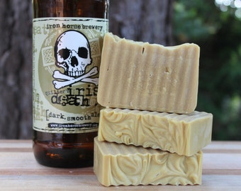 Quilter's Irish Death  Beer Soap