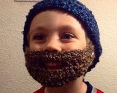 Youth bearded beanie