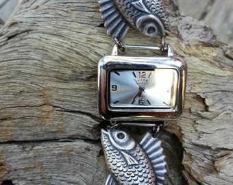 SALE***Free shipping***Funky Fish Watch! TO, VLV pinup, rockabilly, tiki