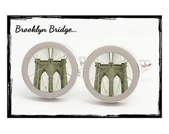 Brooklyn Bridge Cuff Links