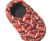 Football Soft Soled Baby Shoes 18-24mo