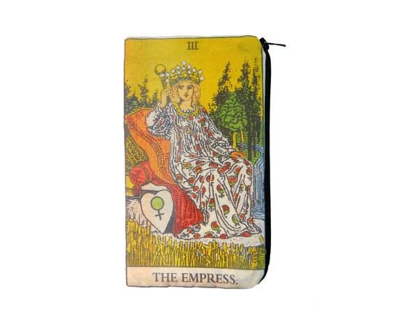 The Empress Tarot Card Makeup Bag