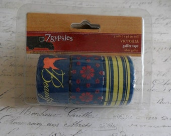 7 Gypsies: Gaffer Tape - Victoria Collection - Set of 3 Rolls