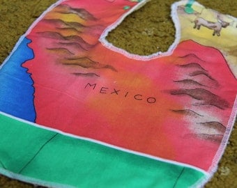 Mexico Baby and Toddler Bib