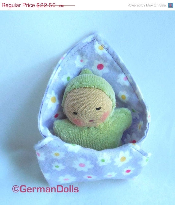 doll mini baby doll with blanket baby shower gift cloth doll