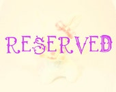 RESERVED for Tingting Shen