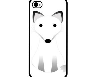 Phone Case - Arctic Fox - Hard Case for iPhone 4, 4s, 5, 5s, 5c, SE, 6, 6 Plus, 7, 7 Plus - iPod Touch 4, 5/6 - Galaxy