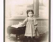 Photograph.Antique.Vintage.Historic.cabinet photo.girl.home deco.collectible.rare.art.frame.eco.crafting.scrap book.steam punk.retro.fashion