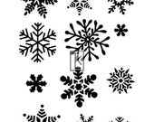 Small Snowflakes Clear Stamp