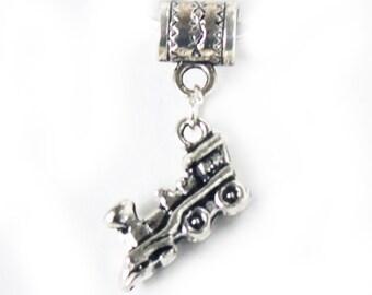 Silver Locomotive Train Key Chain Key Ring Key Holder Key Fob KC-gen201